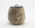 View Karatsu ware tea ceremony water jar digital asset number 0