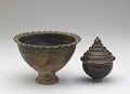 View Pedestal-footed bowl with interior stand digital asset number 6