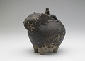 View Pouring vessel in the form of a caparisoned elephant, with a spout on the shoulder digital asset number 6