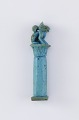 View Papyrus column with two cats digital asset number 1