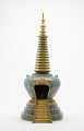 View Cloisonne stupa with gilt ornaments digital asset number 0