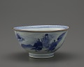 View Bowl with design of Daoist Immortals and Shou Lao digital asset number 0