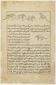 View Folio from <em>Aja'ib al-makhluqat</em> (Wonders of Creation) by al-Qazvini; recto: Mice (Far); verso: text digital asset number 0