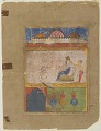 View Chanda in her palace, from a Laur-Chanda manuscript digital asset number 0