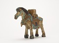 View Figure of pack horse bearing Buddhist scriptures digital asset number 0