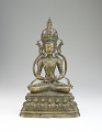 View Figure of a seated bodhisattva digital asset number 0