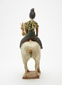 View Tomb figure of a woman on horseback digital asset number 2
