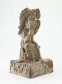 "View The Bodhisattva Mile (Sanskrit Maitreya), seated in ""Pensive Pose"" digital asset number 1"