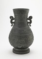 View Ritual wine container (<em>hu</em>) with dragon interlace digital asset number 0