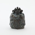 View Somayama (Otowa) ware Incense box in the form of a seated dragon digital asset number 0