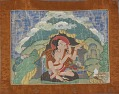 View Mahasiddha Krishnacharya, from a partial set of thangkas digital asset number 1