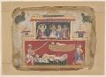 View <em>The Sleeping Shatrajit Murdered by Satadhanva, from a <em>Bhagavata Purana<em></em> digital asset number 0