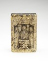 View Seated Buddha with bodhisattvas (obverse); Seated Buddha and Prabhutaratna (reverse) digital asset number 0