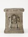 View Pedestal with Buddha, bodhisattvas, and monks digital asset number 3