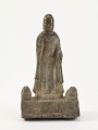 View Standing Buddha (<i>Shakyamuni</i>) with lions digital asset number 0