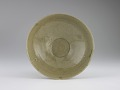 View Bowl with incised floral decor digital asset number 1