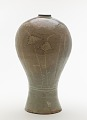 View Bottle with inlaid design of willow trees and reeds digital asset number 3