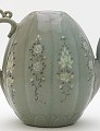 View Ewer with inlaid designs of peony and chrysanthemum digital asset number 2