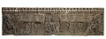 View Frontal from the base of a funerary couch with Sogdian musicians and dancers and Buddhist divinities digital asset number 0