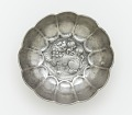 View Lobed bowl with lion, foliage and a ring of raised dots digital asset number 0