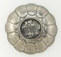 View Lobed bowl with lion, foliage and a ring of raised dots digital asset number 3