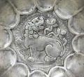 View Lobed bowl with lion, foliage and a ring of raised dots digital asset number 1