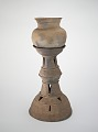 View Funerary stand with round-bottomed jar digital asset number 1