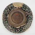 View Tea bowl with silk brocade design digital asset number 2