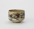 View Tea bowl with design of cranes and chrysanthemums digital asset number 0