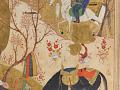 View Folio from a <em>Khamsa</em> (Quintet) by Nizami (d.1209); recto: text; verso: illustration: Khusraw sees Shirin bathing digital asset number 4