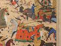 View Folio from a <em>Khamsa</em> (Quintet) by Nizami (d.1209); recto: illustration: Alexander Battling the Zangis; verso: text digital asset number 4