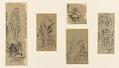 View Album of 37 Japanese drawings digital asset number 13