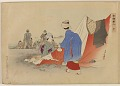 View Album of colored woodblock prints with scenes of contempory women by several artists digital asset number 11
