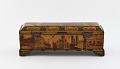 View Writing box with utensils, decorated with photographs of Nasir a-Din Shah, his court, and views of Paris and Tehran digital asset number 3