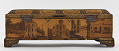 View Writing box with utensils, decorated with photographs of Nasir a-Din Shah, his court, and views of Paris and Tehran digital asset number 4