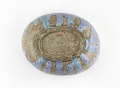 View Oval serving bowl in shape of rice bale digital asset number 3