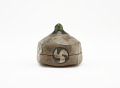 View Pentagonal incense box in Oribe style digital asset number 2