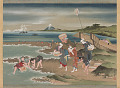 View Landscape: clam-gatherers on the shore digital asset number 1