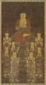View Buddha Amitabha (Amita) and the Eight Great Bodhisattvas digital asset number 0
