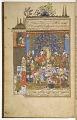 View <i> Matla&apos; al-sa&apos;dayn va majma&apos; al- bahrayn </i> (the Rise of the stars and the junction of the two seas) by Abd al-Razzaq ibn Ishaq al-Samarqandi (d.1482) digital asset number 4