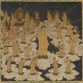 View Welcoming Descent of the Buddha of Infinite Light and Twenty-Five Bodhisattvas digital asset number 1