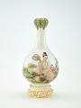 "View Vase of bottle shape with ""garlic"" mouth digital asset number 0"