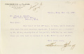 View Letters between Charles Lang Freer and Horace Newton Allen 1907 digital asset number 3