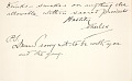 View Charles Lang Freer's correspondence with Cameron Currie, 1901-1919 digital asset number 3