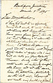 View Charles Lang Freer's letters to Frank Hecker during foreign travels, 1894-1895 digital asset number 10