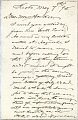 View Charles Lang Freer's letters to Frank Hecker during foreign travels, 1894-1895 digital asset number 4