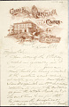 View Charles Lang Freer's letters to Frank Hecker during foreign travels, 1899-1903 digital asset number 4