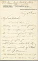 View Charles Lang Freer's letters to Frank Hecker during foreign travels, 1899-1903 digital asset number 2