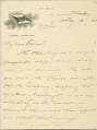 View Charles Lang Freer's letters to Frank Hecker during foreign travels, 1904-1908 digital asset number 4
