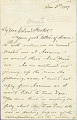 View Charles Lang Freer's letters to Frank Hecker during foreign travels, 1904-1908 digital asset number 1
